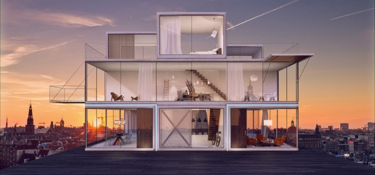Innovative Tetris House concept ready for international production