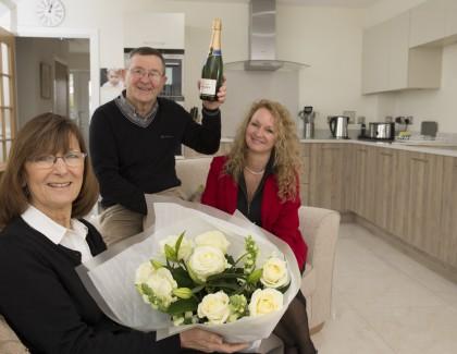 Couple choose low maintenance home to suit active lifestyle