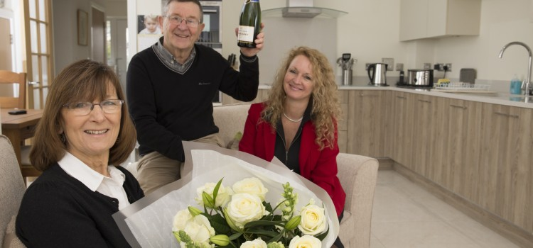 Couple choose low maintenance home to suit active lifestyle