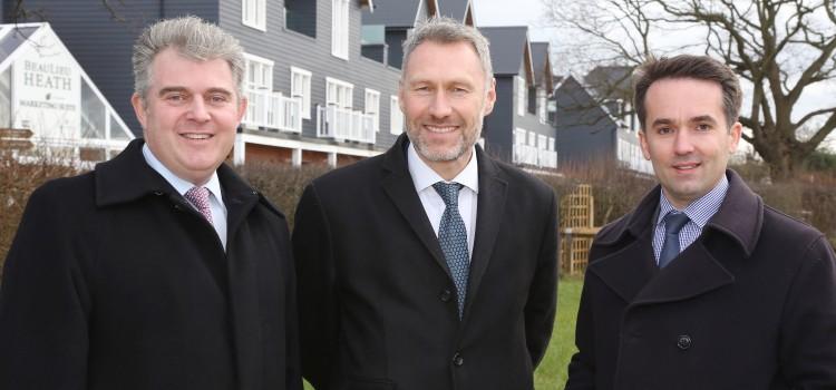 Housing Minister visits Beaulieu site