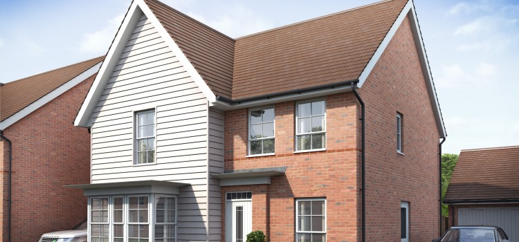 Barratt Homes takes the wraps off new family homes in Maidstone