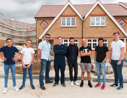Redrow to take on a ton of apprentices