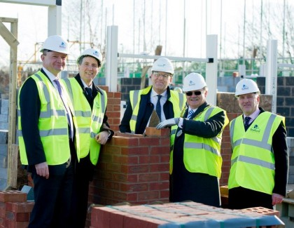 Foundations laid for the transformation of Hesketh Road, Stafford