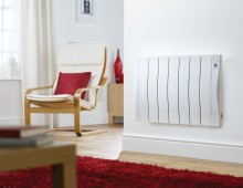 Introducing the Self-Learning Electric Radiator – which knows when you're coming home!