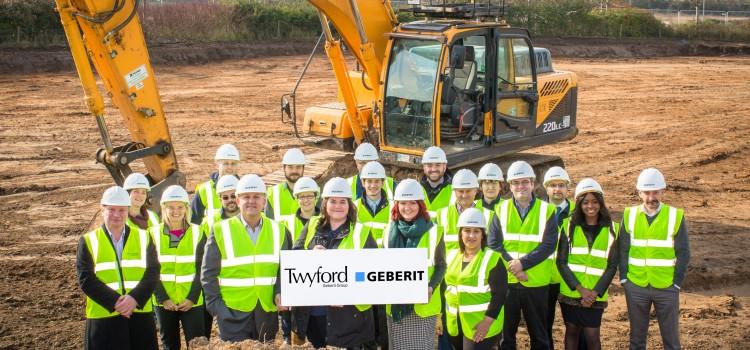 Building work begins on new Geberit headquarters