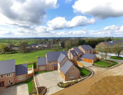 Launch offers a glimpse of luxury rural living at flagship development, Manor Farm in Tugby