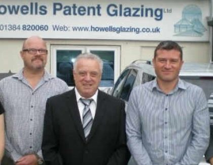 Howells Patent Glazing celebrate their continued success with a new product launch