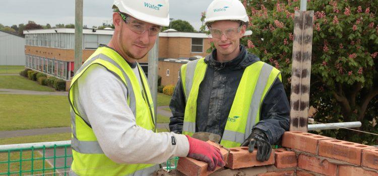 SARH apprentices building careers, brick by brick