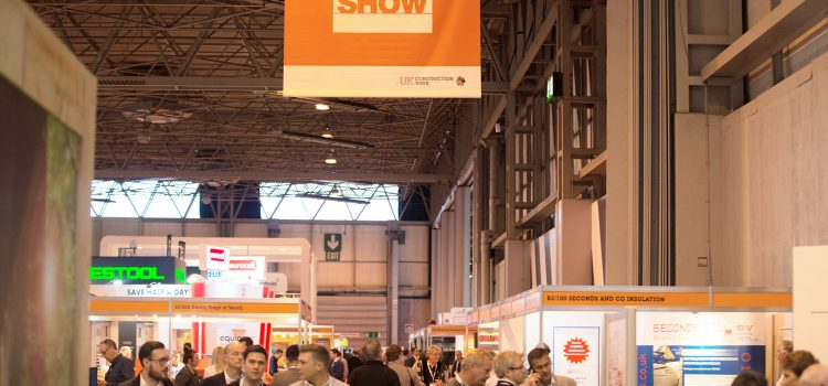 JCB, Caterpillar inc and Screwfix to exhibit build show