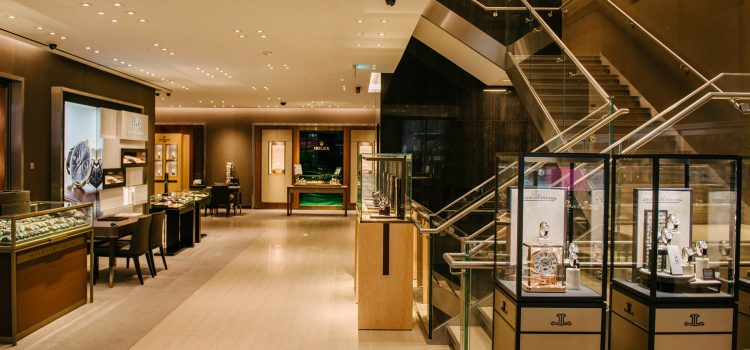 Reed Harris adds finishing touches to Watches of Switzerland's key London showrooms