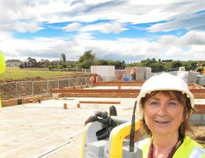 Work on Kenton housing development gets underway
