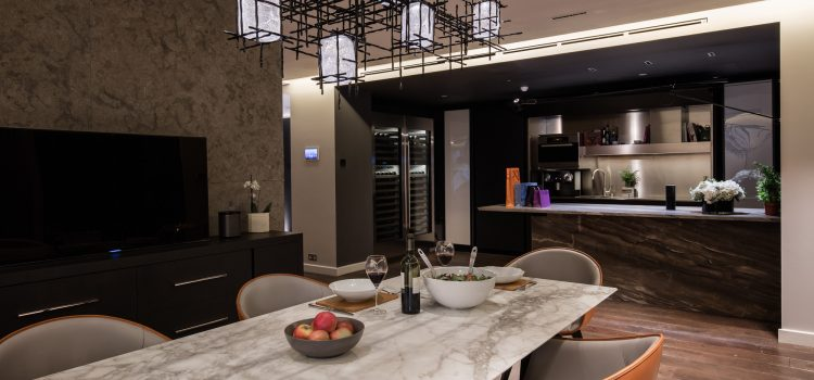 Crestron`s London Showroom redesigned for AW16