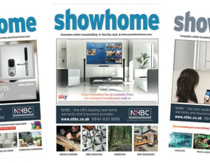 Showhome Nov/Dec 16 Issue