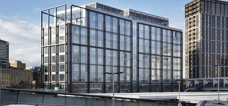 shedkm architects complete first Ruskin Square office in Croydon