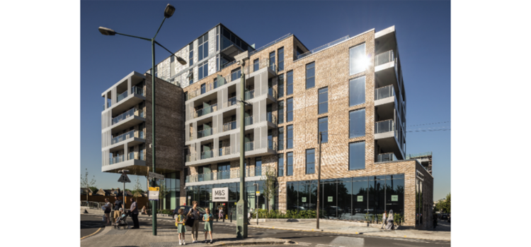 SimpsonHaugh and Partners has completed a £28million landmark housing development for South Kilburn in north-west London