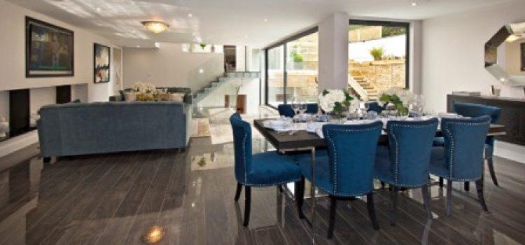 Basement conversion creates stunning home