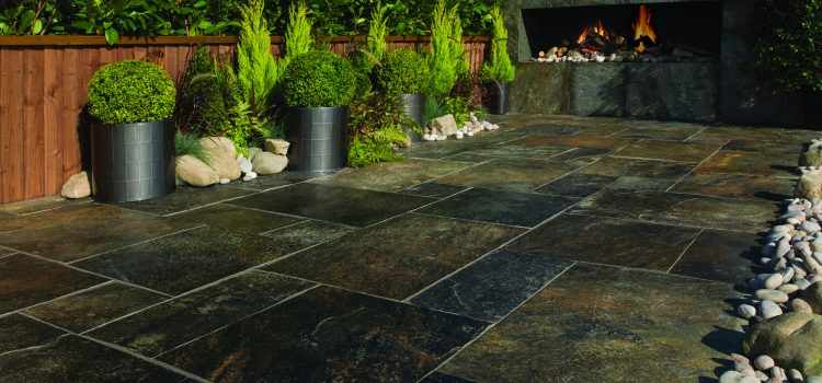 Bradstone unveil their Natural Quartzite paving