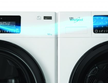 Whirlpool's Live Laundry pair wins Get Connected award
