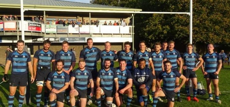 Covers sponsors Chichester Rugby Club