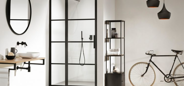 Industrial styling inspires Impey's latest wetroom panel innovation