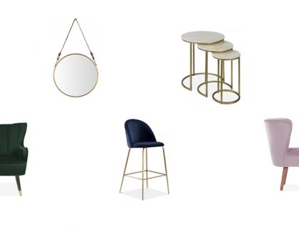 How curved furniture is taking over SS18 interiors