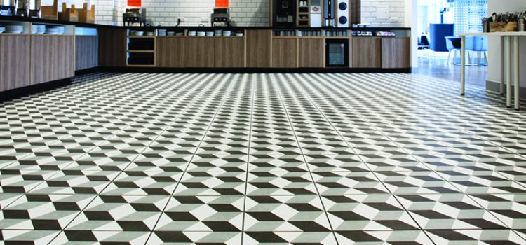 British Ceramic Tile collaborate with Holiday Inn Express to regenerate self-service area