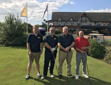 Fairgrove Homes drive impressive charity total at annual golf day