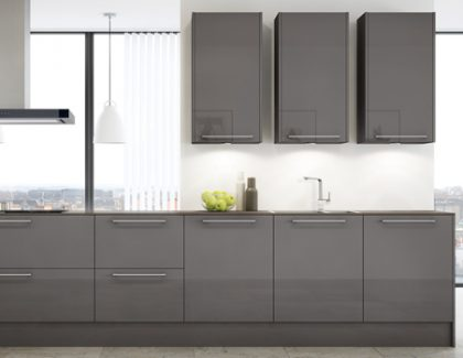 Glorious grey with Caple's new Arezzo kitchen