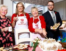 Bake Off stars show off REDROW's recipe for success at The Poplars