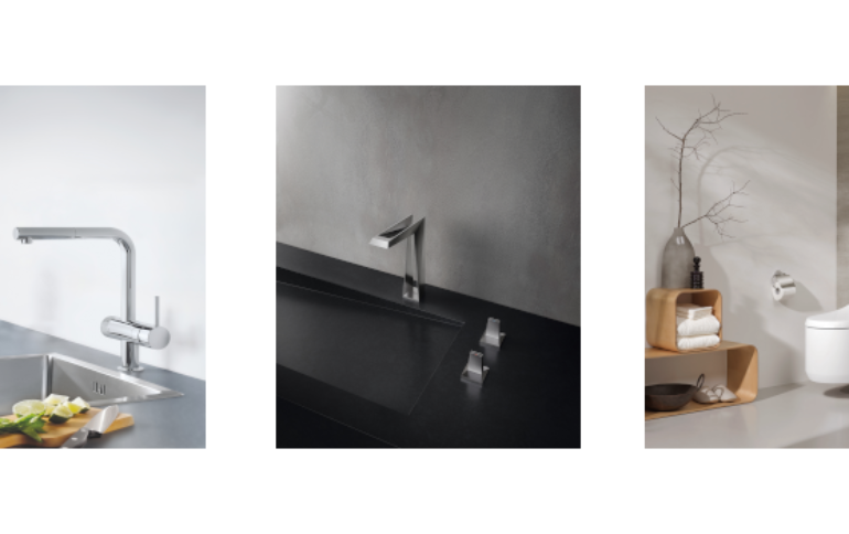GROHE demonstrates its commitment to sustainability with record number of innovations that save energy, water and material