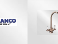 BLANCO UK's new classic Brushed Copper is the height of kitchen elegance