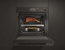 The beauty of choice: Fisher & Paykel's new black built-in ovens