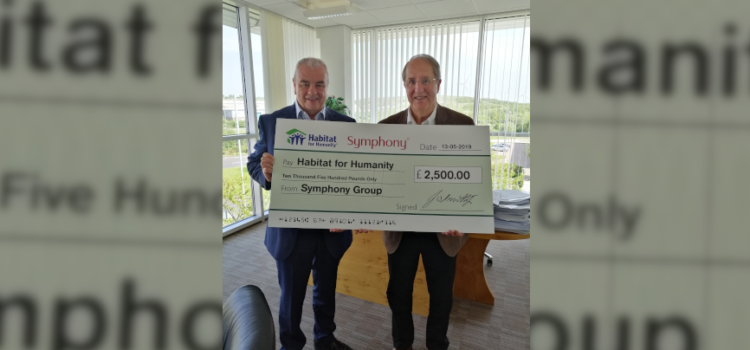 Yorkshire business Symphony Group donates £2,500 to charity