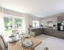 Satisfaction guaranteed at Birch Meadow show home