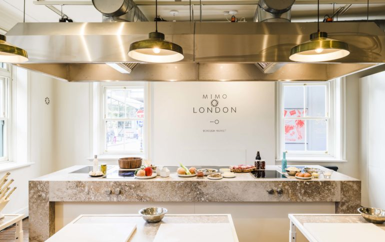Caesarstone x MIMO London: Metropolitan Collection chosen for San-Sebastián cookery school's new London location
