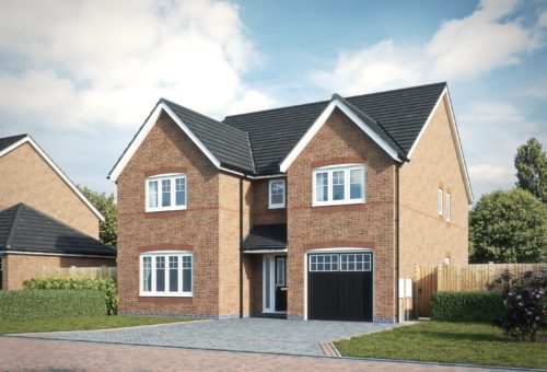 Open day showcase for final new home in Willaston