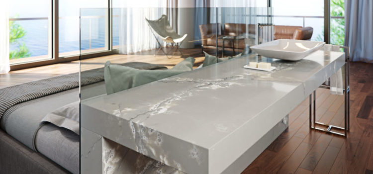 Ice White from COMPAC – a worksurface like no other.