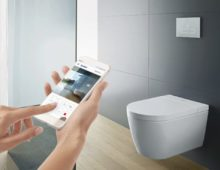 SensoWash Starck f: A new Generation of Shower-toilet