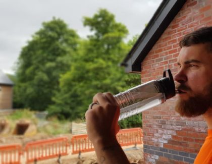 Builders must not bottle plastic challenge – Lockley Homes