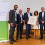 B.A.U.M. honours GROHE CEO Thomas Fuhr for his commitment to sustainability