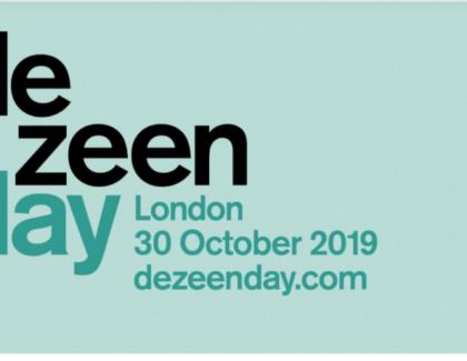GROHE to celebrate A&D industry as Headline Sponsor of Dezeen Day 2019 in London