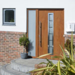 Garador's front doors minimise heat loss
