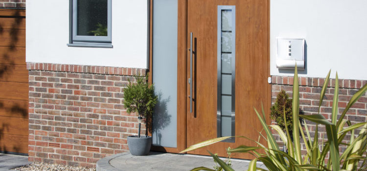 Garador's front doors minimise heat loss