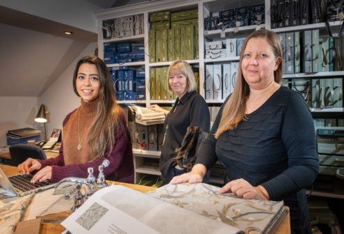 Well-known local designer to join the team at the new £500,000 Richard Grafton Interiors showroom in Wetherby