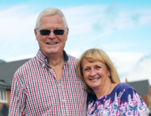 Right place, right time: Ashbourne housebuilder helps retired couple find dream home