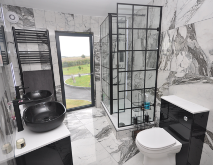 Roman's finest showering products featured in Grand Designs Project