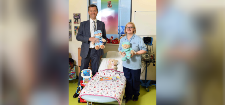 CALA Homes extends playtime for the Glasgow Children's Hospital Charity