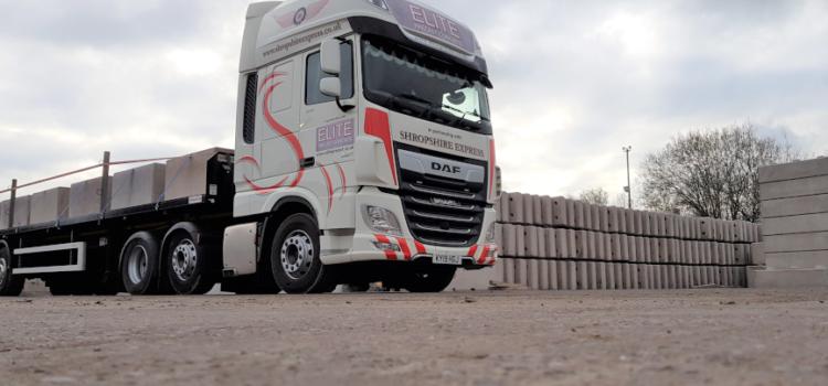 Elite Precast Concrete links up with new logistics partner