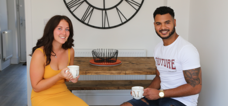 Inland Homes help achieve early upgrade for first time buyer in Ipswich