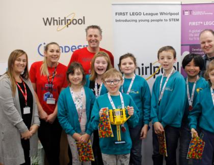 Whirlpool UK Appliances hosts first IET First Lego League Tournament